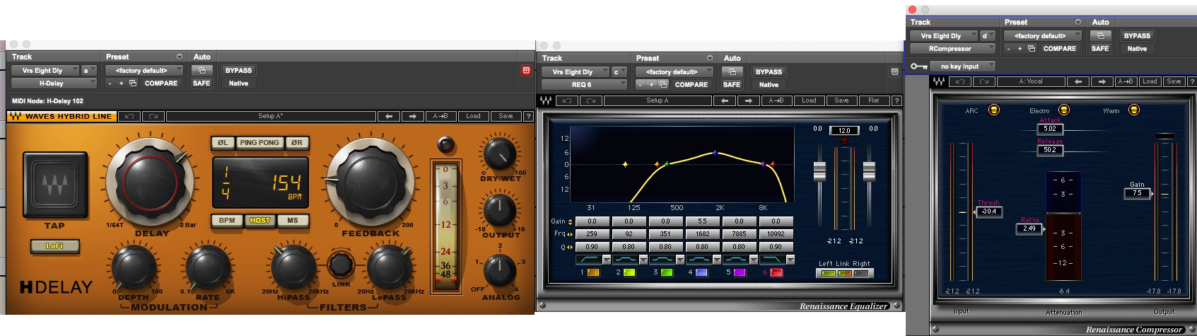 Verse Delay Throw plug ins